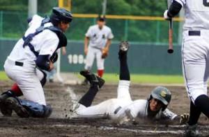 SP大島地区高校野球最終日140604向