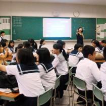 大島高校一日体験入学140731