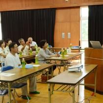 農産物の効果的な販売戦略を学んだセミナー=25日、与論町地域福祉センター