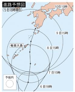 台風進路図 のコピー