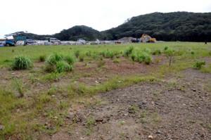 地対艦誘導弾部隊の建設地に示された瀬戸内町節子地区