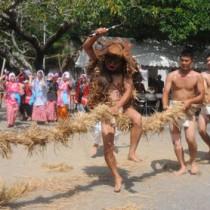 油井の豊年踊