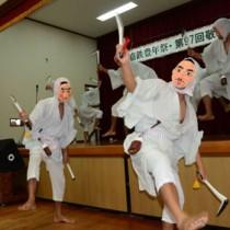 嘉鉄集落豊年祭・カマ踊り140906富川