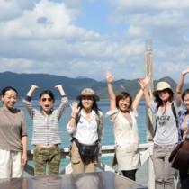 喜界・瀬戸内女子旅ツアー141019富川