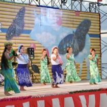 多彩なステージで盛り上がったほーらい祭=23日、伊仙町 AC