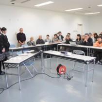 地域資源を幅広く生かし、地域振興につなげるための方向性を探った座談会=20日、奄美市笠利町