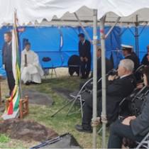 徳島県神社庁が喜界島で戦没者慰霊祭写真 丸山