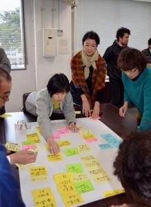 ワークショップ方式でエコツーリズムのテーマを話し合った奄美大島協議会=5日、奄美会館
