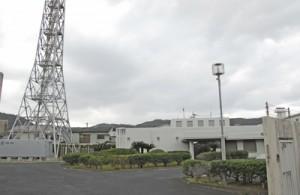 31年間の業務に幕を下ろす名瀬航空路監視レーダー事務所=19日、奄美市名瀬