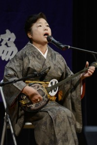 永井さん全国へ、民謡民舞九州大会