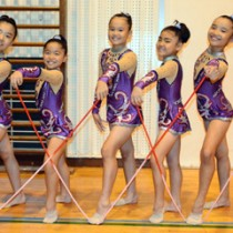 九州大会出場を決めたASAスポーツアカデミーの選手たち=23日、奄美市名瀬の大島高校体育館
