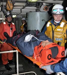 旅客船事故合同救助訓練②