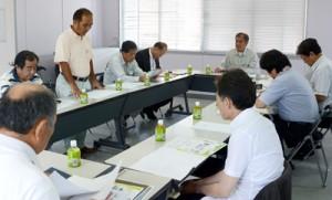 観光プログラム開発に向けて始動した調査事業推進委員会=13日、宇検村商工会