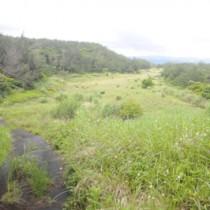 陸自の奄美警備部隊の配備先に示されている奄美市名瀬の大熊地区(上)と瀬戸内町節子地区