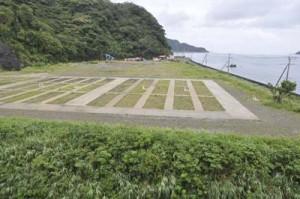 陸自警備部隊官舎の候補地=瀬戸内町阿木名地区