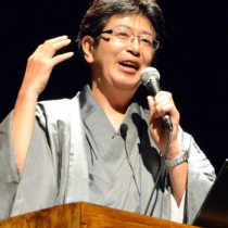開会講演を行った徳田英弘・大会長=同