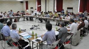 「奄美・琉球」の世界自然遺産登録実現の1年持ち越しが明らかになった科学委員会=7日、徳之島町