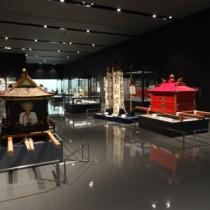 与論をはじめ奄美関係の展示も目を引く特別展=沖縄県立博物館・美術館