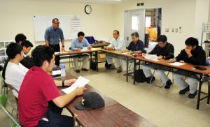 JAあまみ大島事業本部果樹部会による対策協議会の設立会合=10日、奄美市名瀬