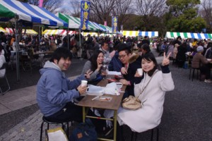 今年もにぎわった〝とくの島〟観光・物産フェア=21日、東京・代々木公園