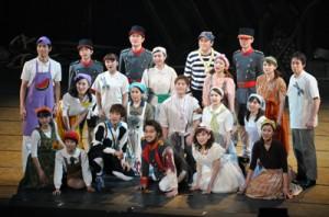 5年ぶり沖永良部公演となった劇団四季のファミリーミュージカル「人間になりたがった猫」=3日、知名町のあしびの郷・ちな