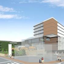 3年後の2019年3月末に完成予定の新庁舎イメージ図