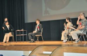 公民館の必要性についてあった座談会=22日、奄美文化センター