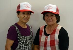 奄美漁協が販売しているシラヒゲウニ漁の許可証を兼ねた帽子=28日、奄美市笠利町