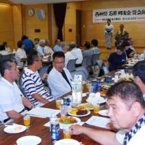 約70人が出席した設立総会=25日、奄美市名瀬のAiAiひろば