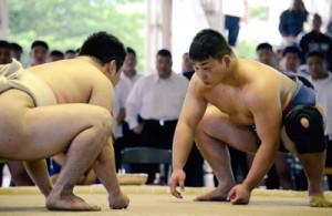 個人準優勝を飾った龍山和彦(右)=本人提供