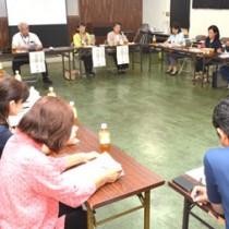 経営力強化を目指す農産加工者らが法人化について学んだセミナー=27日、奄美市名瀬の県大島支庁