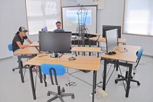 「フリーランス向け共同利用施設」としてオープンした「コワーキングスペースかさり」=1日、奄美市笠利町万屋