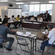 世界自然遺産地域の管理に関する行動計画案を承認した徳之島部会の初会合=15日、徳之島町