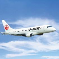 8月就航予定のエンブラエル170型機(日本航空奄美営業所提供)