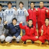 九州大会で活躍した奄美出身選手たち=提供写真