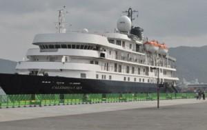 カレドニアンスカイ寄港170322且