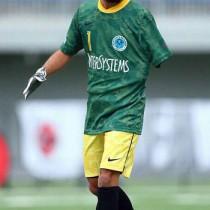 アンプティーサッカーの日本代表に選出された東さん(提供写真)