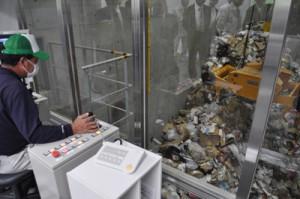 与論新ゴミ処理施設②