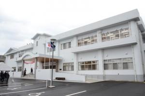 開館した龍郷町生涯学習センター「りゅうがく館」