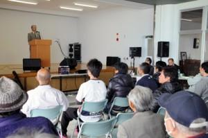 約120人が参加した「あしたの加計呂麻島プロジェクト」立ち上げ総会=2日、瀬戸内町加計呂麻島