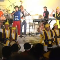 さまざまなアーティストの音楽ライブもあったヨロンサンゴ祭=13日、与論町茶花海岸