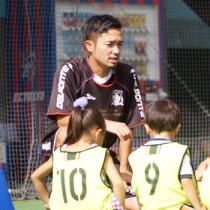 7人制サッカー「ソサイチ」日本代表に選出された龍郷町出身の徳永健介さん(提供写真)