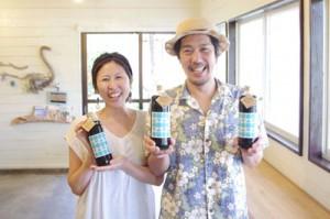 奄美群島産サトウキビを原料とする含蜜糖を使ったコーヒー飲料「きびおれ」を発売する山田珈琲Amami Island(写真提供=アビコムデザイン合同会社)
