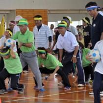 10競技で熱戦を繰り広げたねんりんスポーツ大会=16日、徳之島町亀津