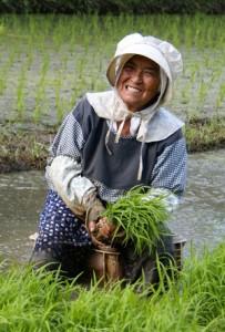 KAMあまみ21大賞に輝いた福山由美子さんの作品「大好きな農業」