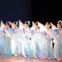 優雅な舞で観客を魅了した第2部のステージ