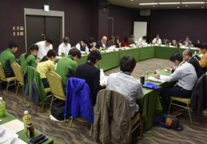 アマミノクロウサギの死骸確認数について報告があった保護増殖検討会=23日、奄美市