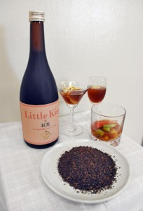 徳之島産紅茶「べにふうき」を使ったリキュール