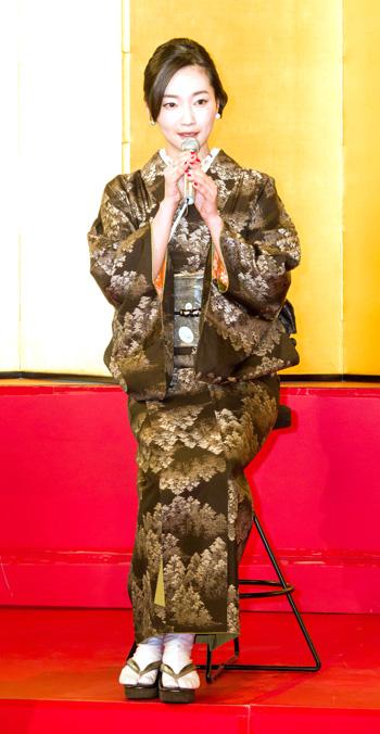 ★西郷どんに出演する里アンナさん(差し替え) 里アンナさん出演決まる 愛加那の義姉、里千代金役