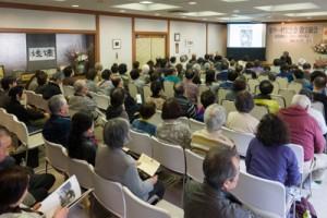 写真家の田辺さんの講演会